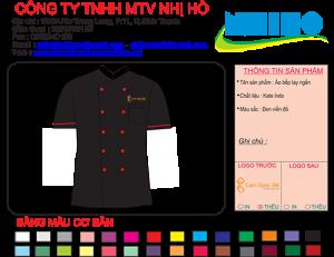 Mẫu Thiết kế áo bếp